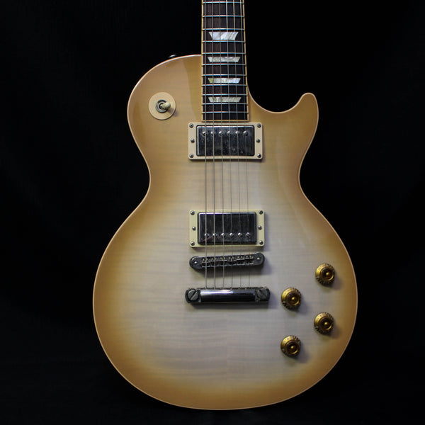 Used 2006 Gibson Les Paul Standard Plus Deluxe w/ Case - Latte Cream 093020