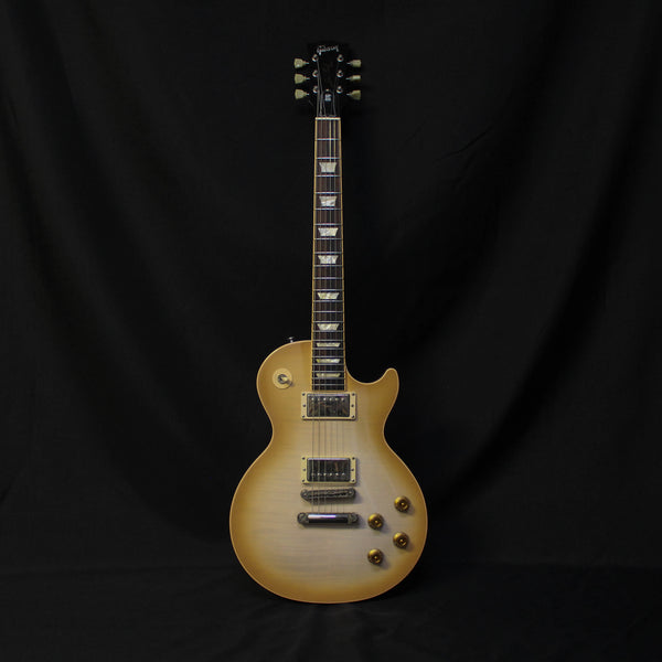 Used 2005 Gibson Les Paul Standard Plus Deluxe w/ Case - Latte Cream 093020
