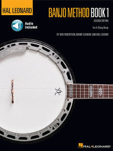 Hal Leonard Banjo Method Book