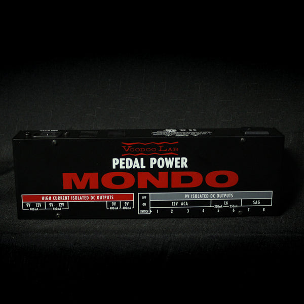 Used Voodoo Lab Pedal Power Mondo 012820