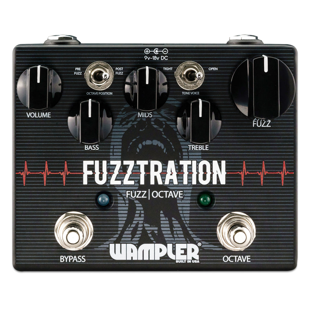Wampler Fuzztration -  Fuzz with Octave Pedal