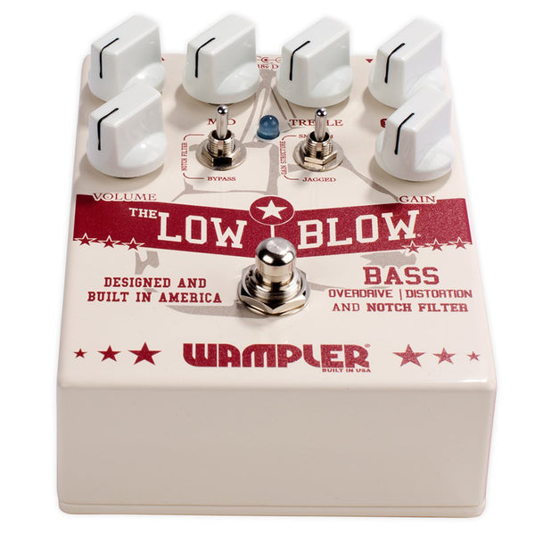 Wampler Low Blow Bass Overdrive / Distortion Pedal
