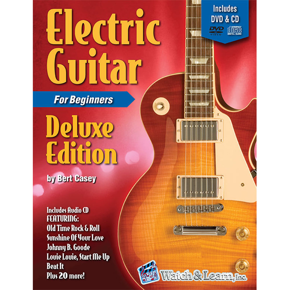 Watch & Learn Electric Guitar Primer Deluxe Edition Instruction Method