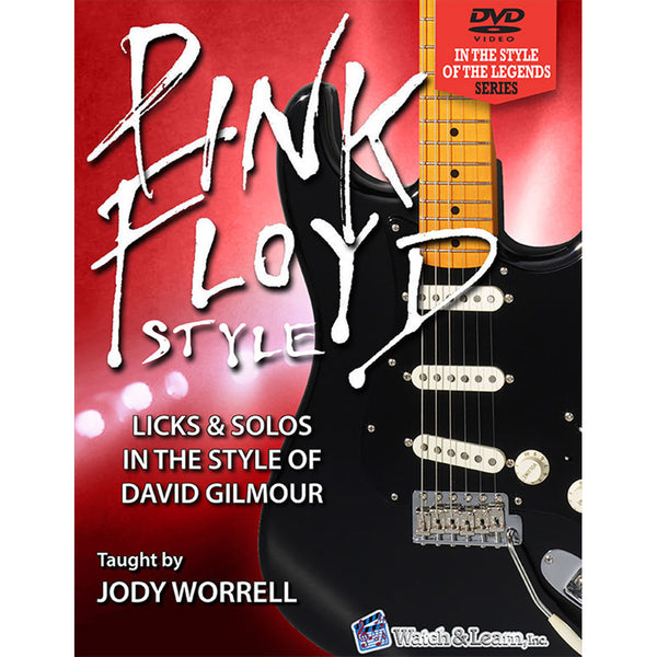 Watch & Learn Pink Floyd Style Instruction Book with DVDs