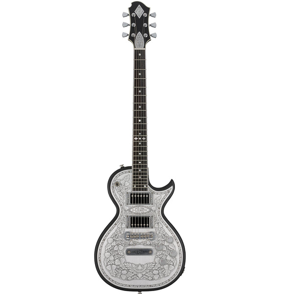 Zemaitis Casimere Series Metal Front Guitar w/Bag - Black - C24MF