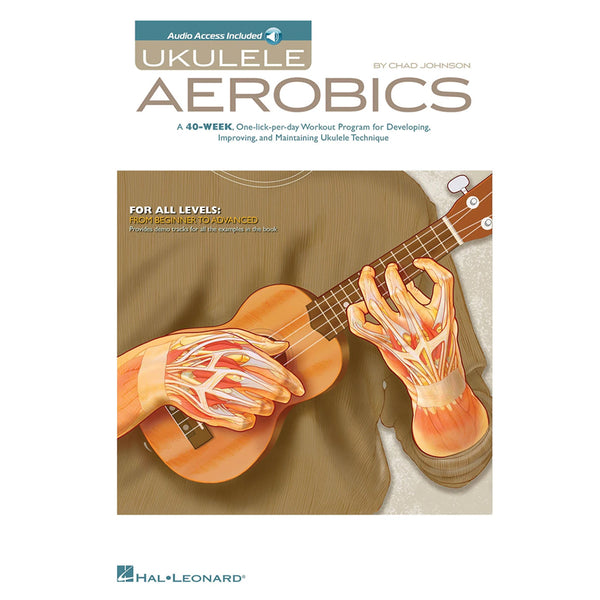 Hal Leonard Ukulele Aerobics Instruction Songbook