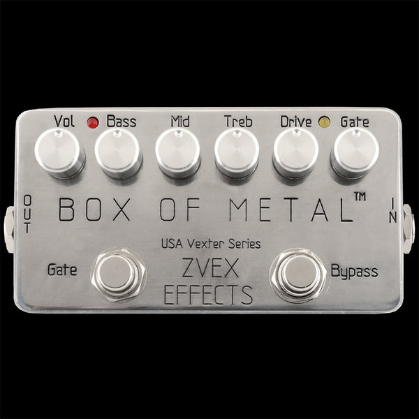 ZVEX Box of Metal Distortion Pedal - USA Vexter Series