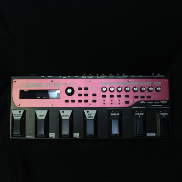 Used Boss RC-50 Loop Station 022520
