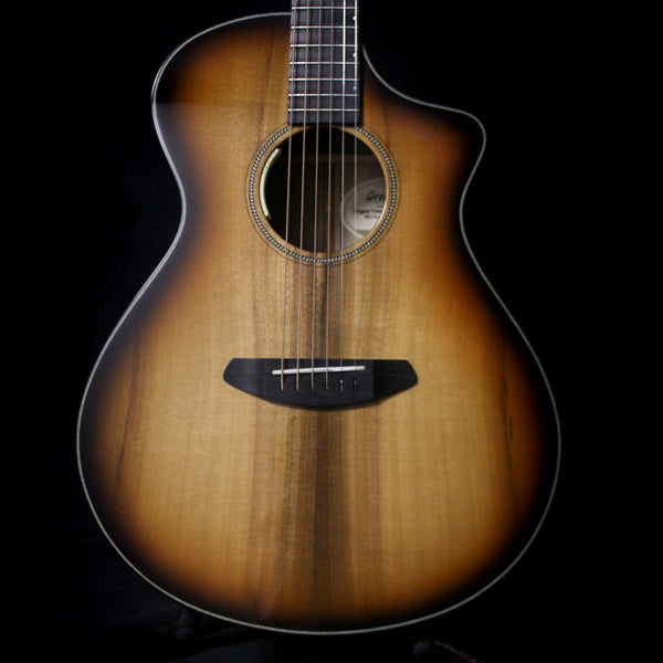 Breedlove Oregon Concert CE Limited Run Myrtlewood Acoustic Guitar - Eclipse Burst