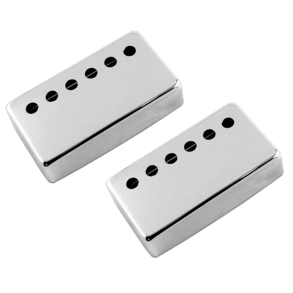 Allparts 50mm Humbucker Pickup Cover Set of 2 - Chrome