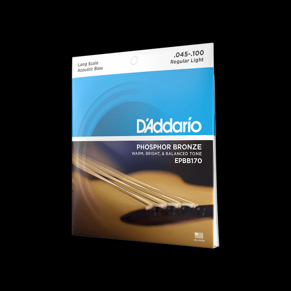 D'Addario Phosphor Bronze Acoustic Bass Strings 45-100