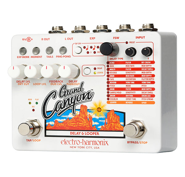 Electro Harmonix Grand Canyon Delay & Looper Pedal