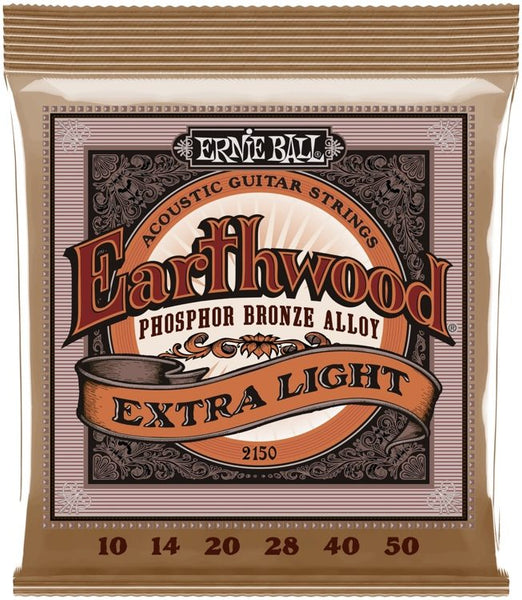 Ernie Ball Phosphor Bronze Acoustic Strings - Extra Light