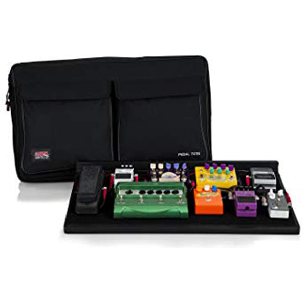 "Gator Pro Size Pedalboard w/ Bag & Power Supply - 30"" x 16"""