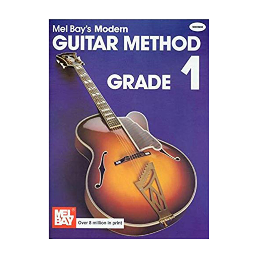 Mel Bay's Modern Guitar Method Grade 1 Book w/ Online Audio & Video