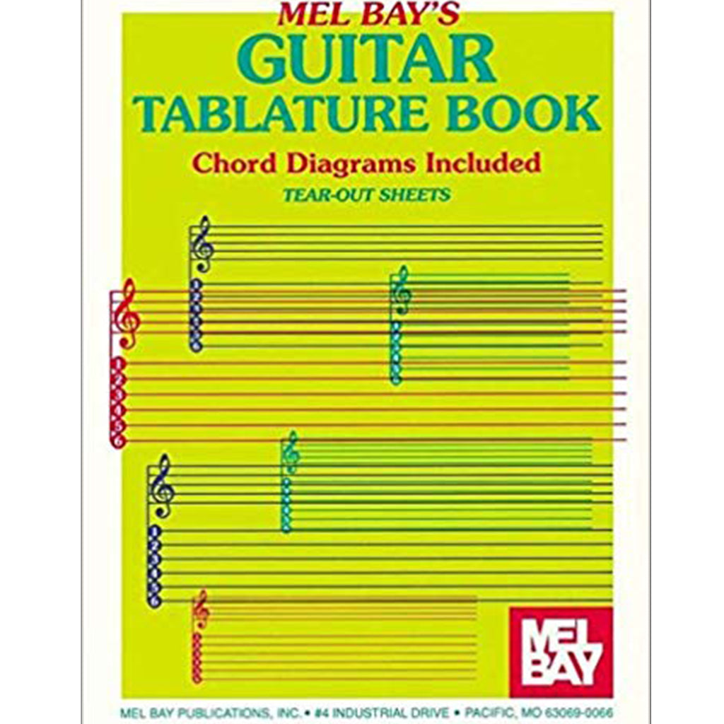 Mel Bay's Guitar Tablature Book