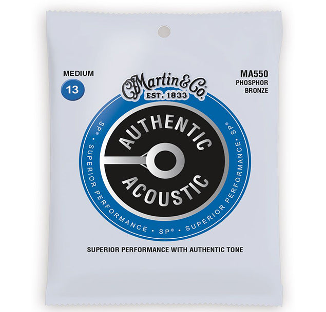 Martin SP Phosphor Bronze Acoustic Strings MA550 - 13-56