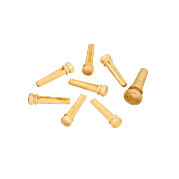 D'Addario Premium Grade Bridge Pins - Boxwood