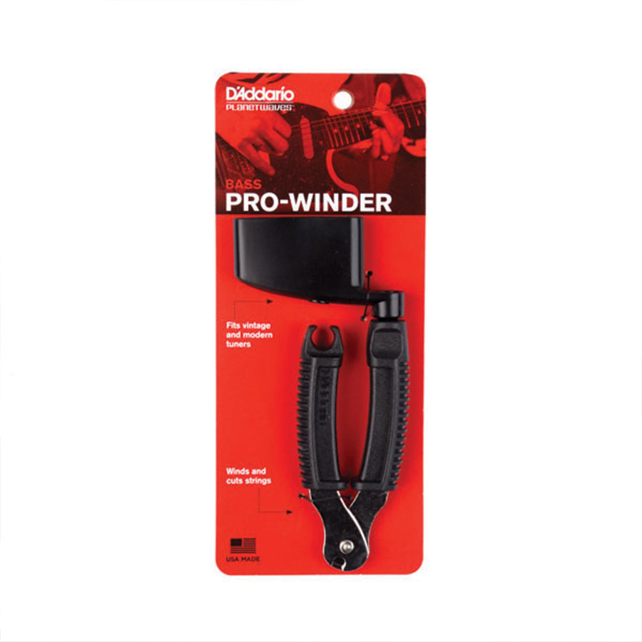 D'Addario Bass Pro Winder and String Cutter