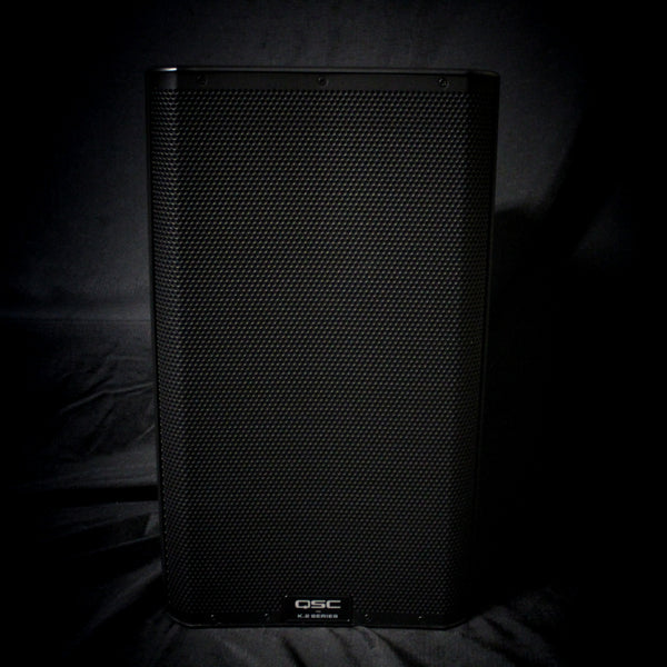 "Used QSC K12.2 2000w 12"" Two-Way Powered PA Speaker w/ Bag 112119"