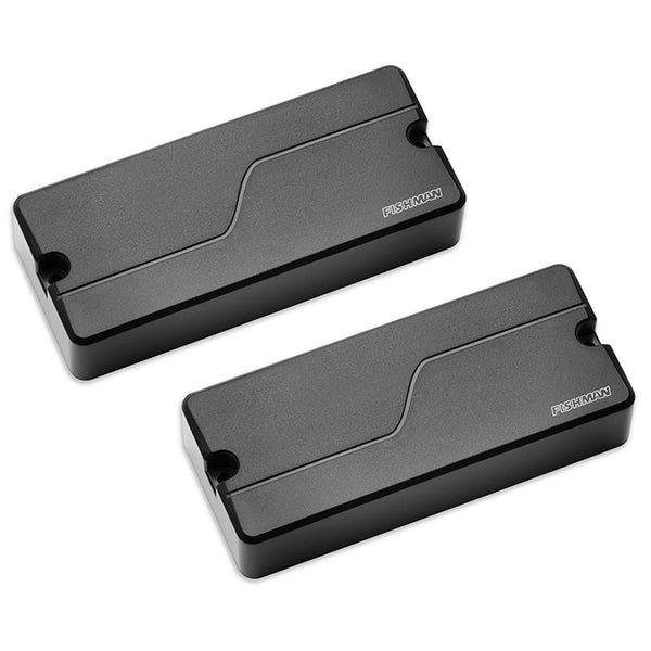 Fishman Fluence 4 String Bass Soapbar Pickup Set - Black