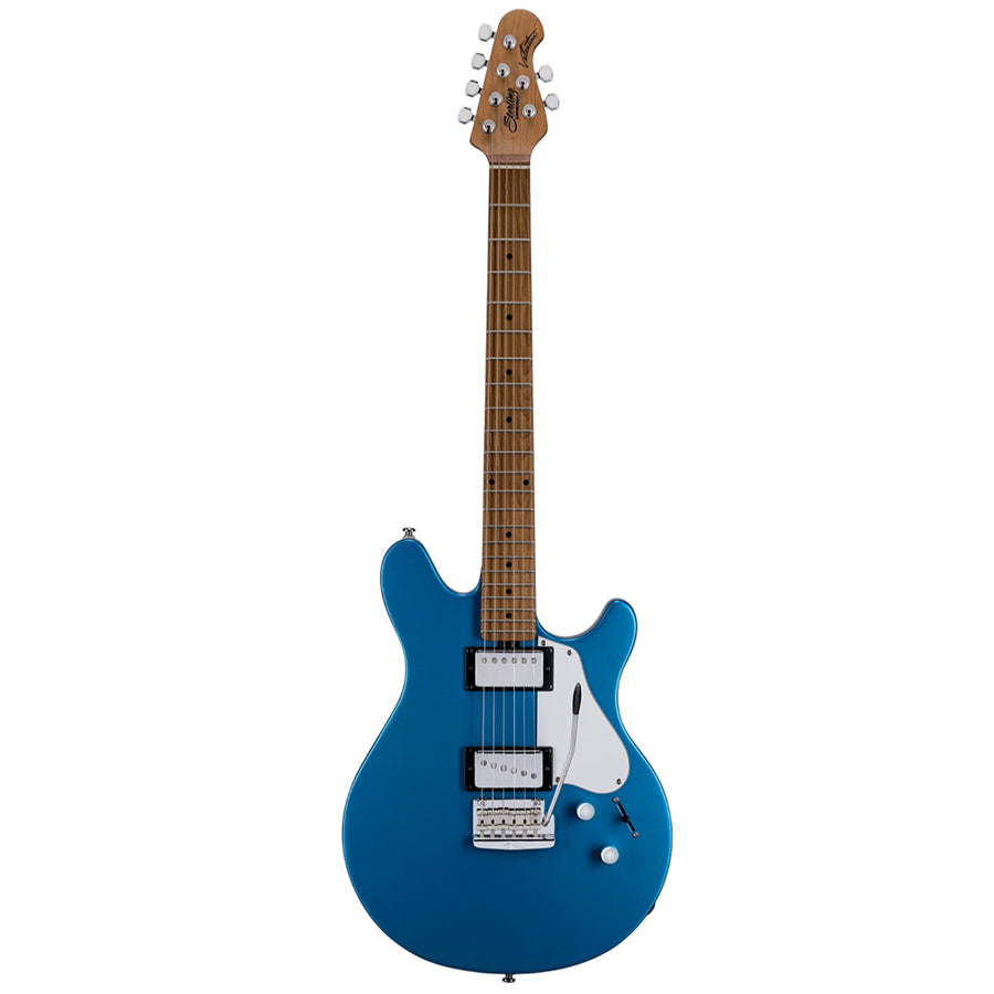 Sterling Valentine Tremolo Electric Guitar w/ Bag - Toluca Lake Blue