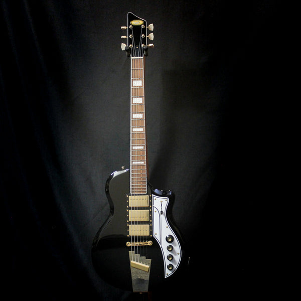 Supro Tri Tone Electric Gutiar - Black
