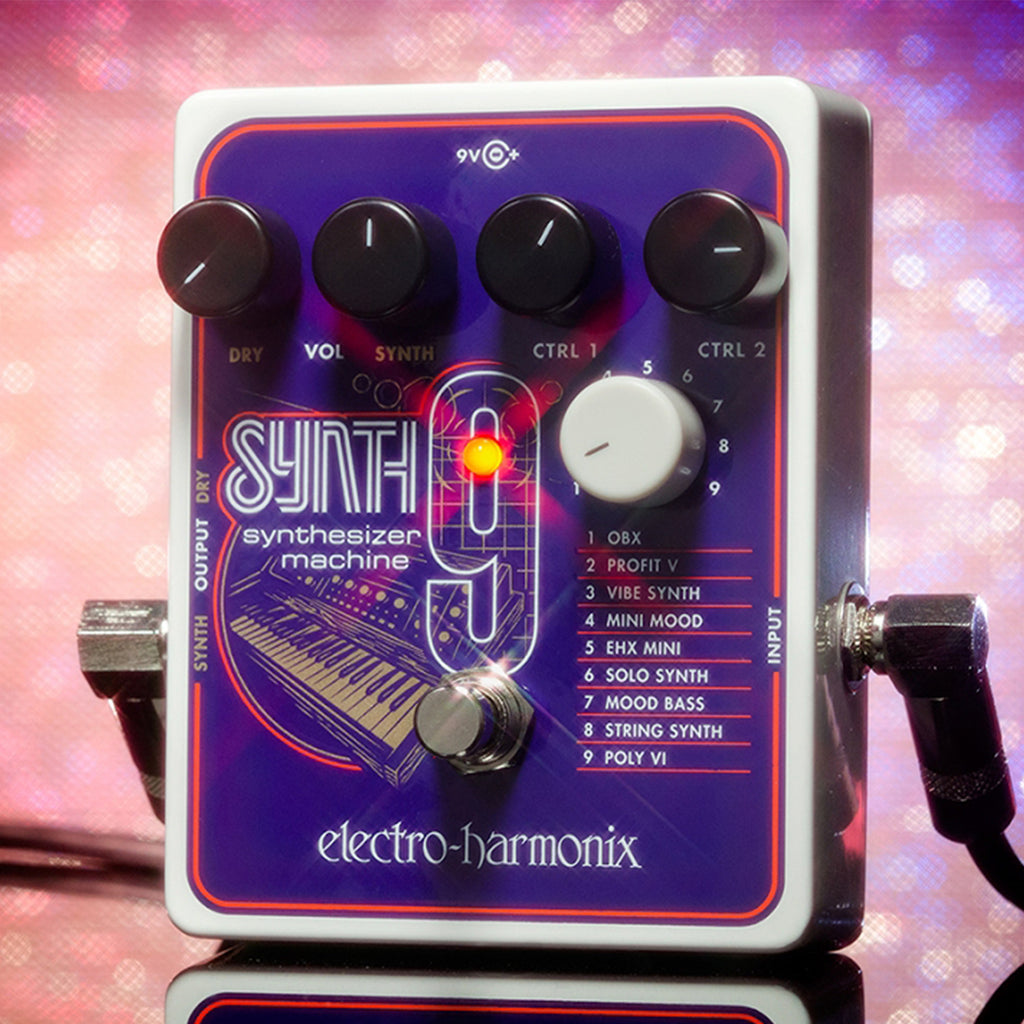 Electro Harmonix Synth 9 Synthesizer Machine Pedal