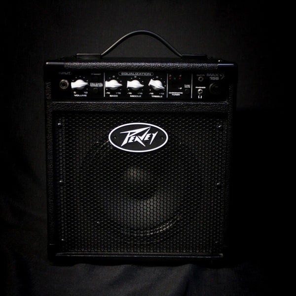 "Used Peavey Max 158 20w 1x8"" Bass Combo 081119"