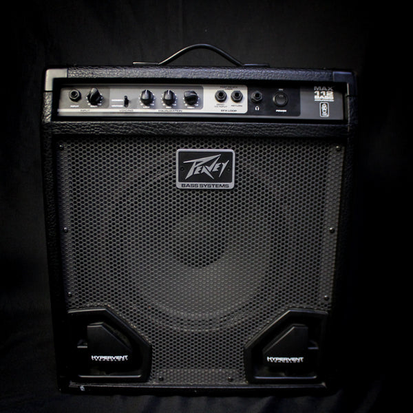"Used Peavey Max Bass 112 35w 1x12"" Bass Combo 081119"