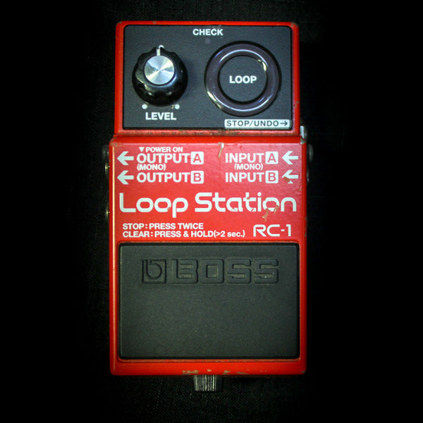 Used Boss RC-1 Loop Station 080419