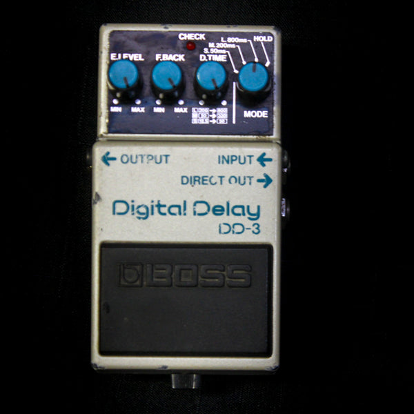 Used Boss DD-3 Digital Delay Pedal 081319