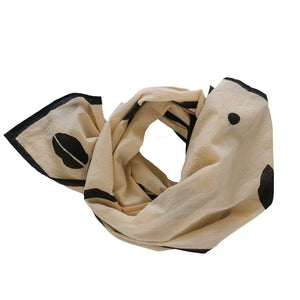 Natural Scarf + Bandana Set