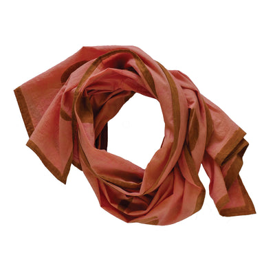 Blush Block Print Scarf