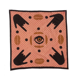 Blush 'I Love You' Bandana