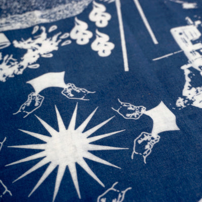 'Year of Indigo' Bandana
