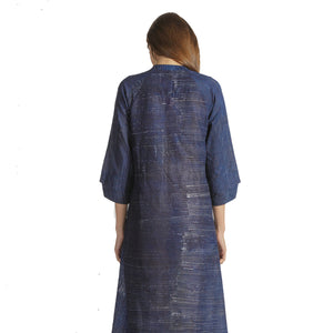 WOMEN'S BATIK STRIPE DRESS
