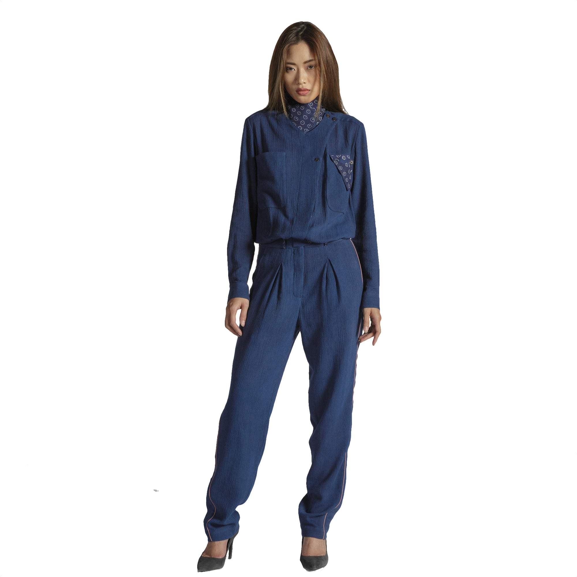 Women's Indigo Jumpsuit