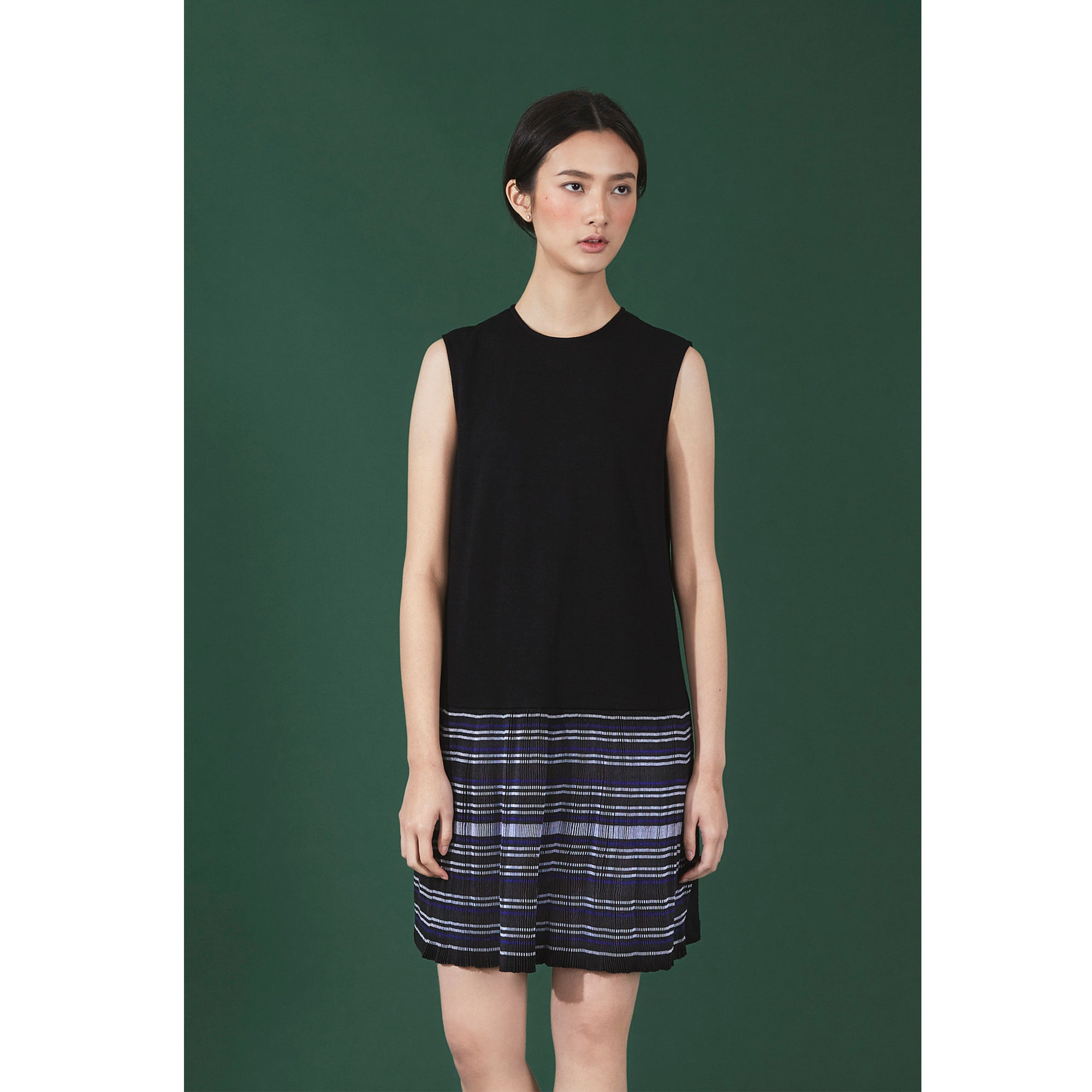 MIAO PLEATED DRESS