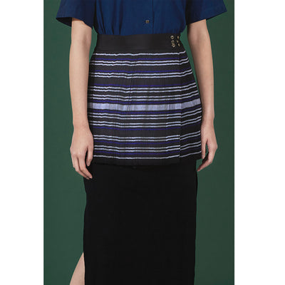 MIAO PLEATED WRAP SKIRT