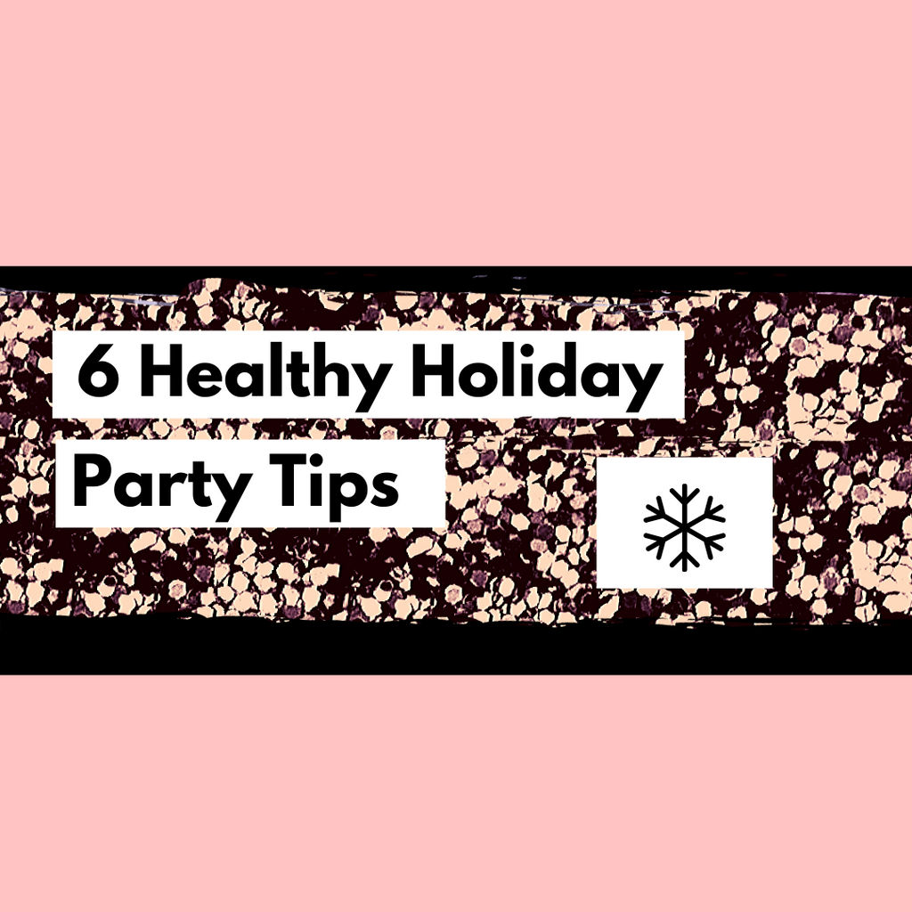 6 healthy holiday tips