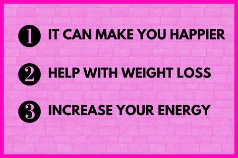 happier lose weight more energy chrissy biamonte becausebliss