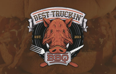 = BEST TRUCKIN' B.B.Q. =<br><small><i>Food Truck Logo & Vehicle Wrap</i></small>
