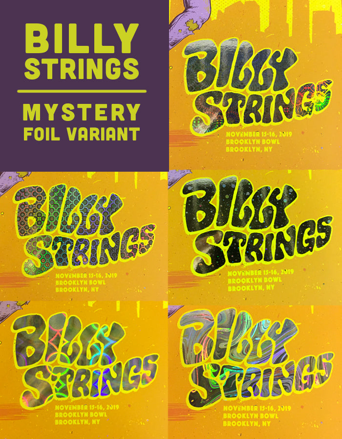 Billy Strings | Brooklyn - Mystery Foil