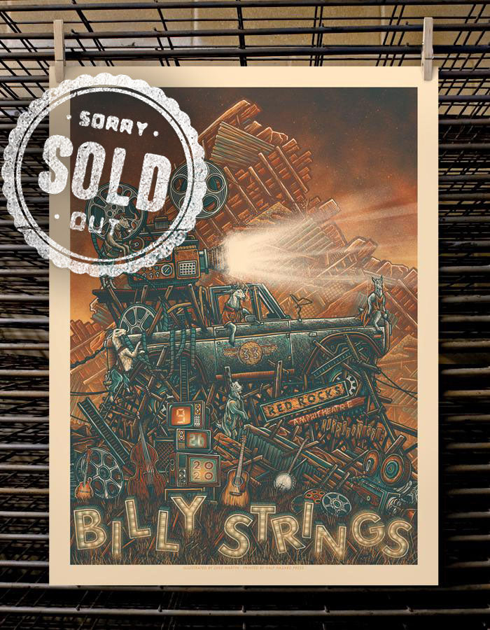Billy Strings | 9.26 Red Rocks