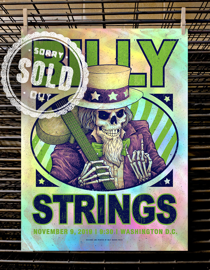 Billy Strings | Washington, DC - Foil Variant