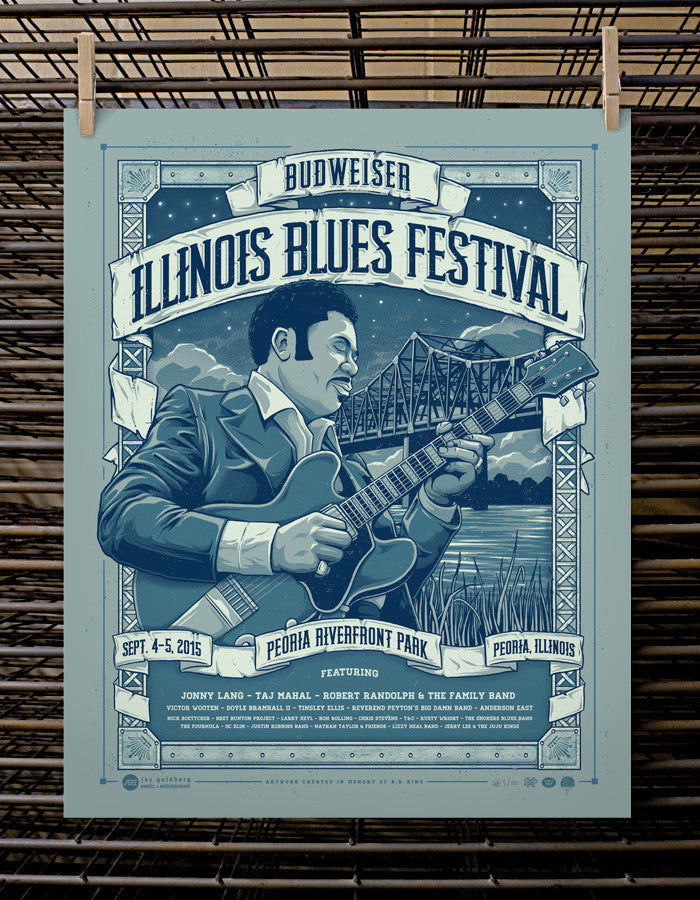 Illinois Blues Festival 2015