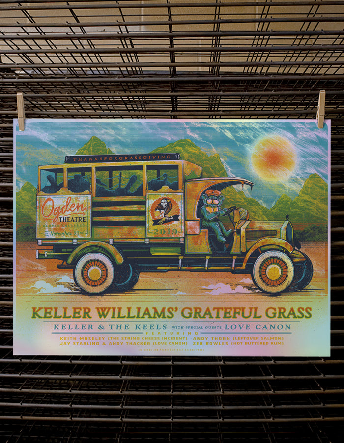 Keller Williams' Grateful Grass | Foil Variant