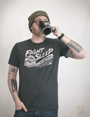 Fight Sleep Campfire Mug