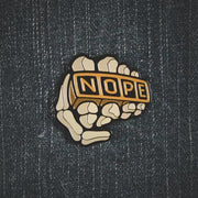 Nope Knucks Pin